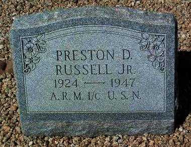 RUSSELL, PRESTON DOTY, JR. - Yavapai County, Arizona   PRESTON DOTY, JR. RUSSELL - Arizona Gravestone Photos