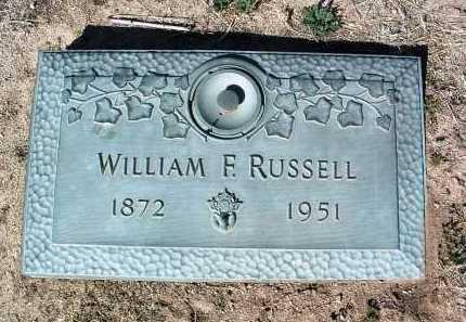 RUSSELL, WILLIAM FREDERICK - Yavapai County, Arizona | WILLIAM FREDERICK RUSSELL - Arizona Gravestone Photos