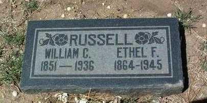 RUSSELL, ETHEL F. - Yavapai County, Arizona | ETHEL F. RUSSELL - Arizona Gravestone Photos