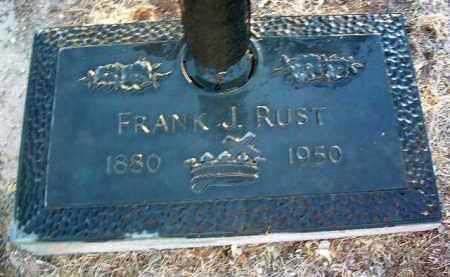 RUST, FRANK J. - Yavapai County, Arizona   FRANK J. RUST - Arizona Gravestone Photos
