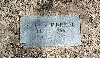 RUTHERFORD MUNROE, A. - Yavapai County, Arizona | A. RUTHERFORD MUNROE - Arizona Gravestone Photos