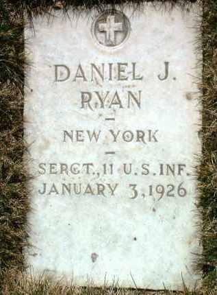 RYAN, DANIEL JOSEPH - Yavapai County, Arizona   DANIEL JOSEPH RYAN - Arizona Gravestone Photos