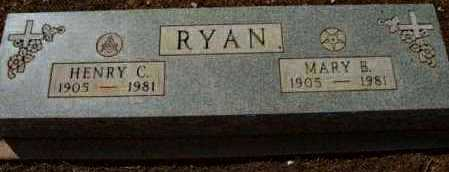 RYAN, HENRY CLINTON - Yavapai County, Arizona | HENRY CLINTON RYAN - Arizona Gravestone Photos