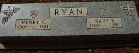 RYAN, HENRY CLINTON - Yavapai County, Arizona | HENRY CLINTON RYAN - Arizona Gravestone Photos