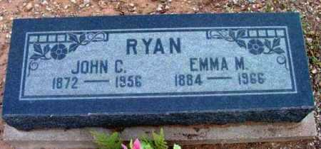RYAN, JOHN C. - Yavapai County, Arizona | JOHN C. RYAN - Arizona Gravestone Photos