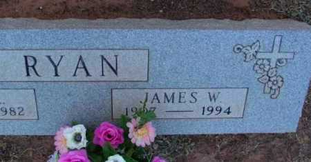 RYAN, JAMES WILLIAM - Yavapai County, Arizona | JAMES WILLIAM RYAN - Arizona Gravestone Photos