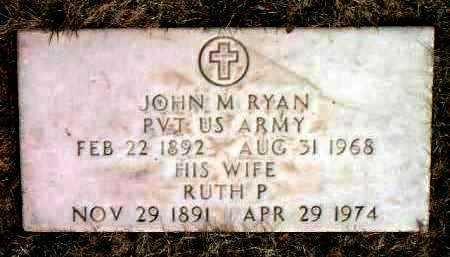 RYAN, JOHN MICHAEL - Yavapai County, Arizona | JOHN MICHAEL RYAN - Arizona Gravestone Photos