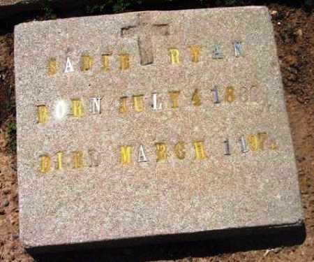 RYAN, SADIE IRENE - Yavapai County, Arizona | SADIE IRENE RYAN - Arizona Gravestone Photos