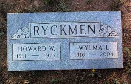 LILLIE RYCKMEN, WYLMA J. - Yavapai County, Arizona | WYLMA J. LILLIE RYCKMEN - Arizona Gravestone Photos