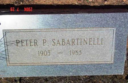 SABARTINELLI, PETER P. - Yavapai County, Arizona | PETER P. SABARTINELLI - Arizona Gravestone Photos