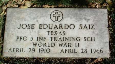 SAIZ, JOSE EDUARDO - Yavapai County, Arizona   JOSE EDUARDO SAIZ - Arizona Gravestone Photos
