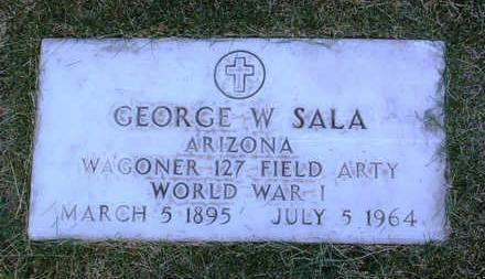 SALA, GEORGE  W. - Yavapai County, Arizona | GEORGE  W. SALA - Arizona Gravestone Photos