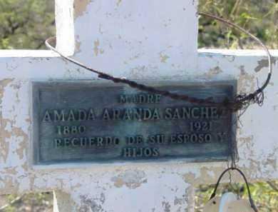 ARANDA SANCHEZ, AMADA - Yavapai County, Arizona | AMADA ARANDA SANCHEZ - Arizona Gravestone Photos