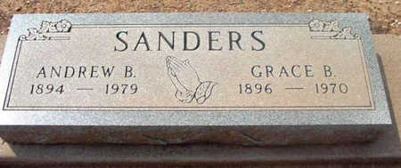 SANDERS, ANDREW B. - Yavapai County, Arizona | ANDREW B. SANDERS - Arizona Gravestone Photos