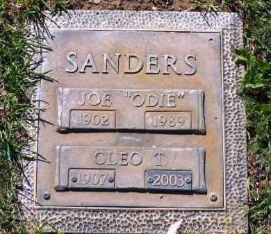 SANDERS, CLEO THELMA - Yavapai County, Arizona | CLEO THELMA SANDERS - Arizona Gravestone Photos