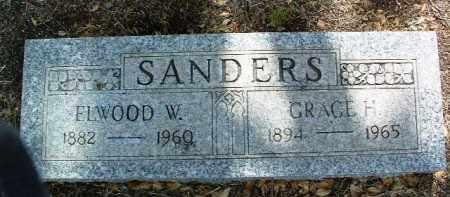 SANDERS, GRACE H. - Yavapai County, Arizona | GRACE H. SANDERS - Arizona Gravestone Photos