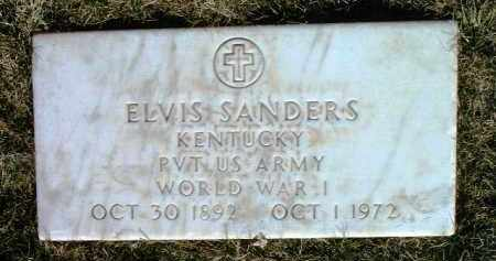SANDERS, ELVIS - Yavapai County, Arizona | ELVIS SANDERS - Arizona Gravestone Photos