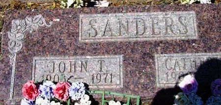 SANDERS, JOHN THOMAS - Yavapai County, Arizona | JOHN THOMAS SANDERS - Arizona Gravestone Photos