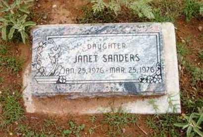 SANDERS, JANET - Yavapai County, Arizona | JANET SANDERS - Arizona Gravestone Photos