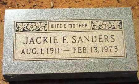 SANDERS, JACKIE F. - Yavapai County, Arizona | JACKIE F. SANDERS - Arizona Gravestone Photos