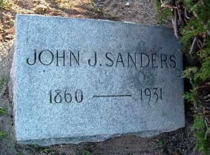 SANDERS, JOHN J. - Yavapai County, Arizona   JOHN J. SANDERS - Arizona Gravestone Photos