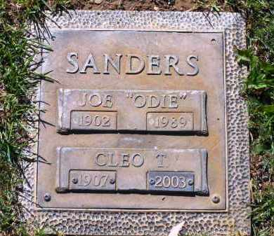 SANDERS, JOE CALVIN  (ODIE) - Yavapai County, Arizona | JOE CALVIN  (ODIE) SANDERS - Arizona Gravestone Photos