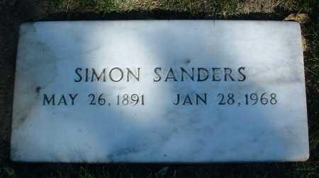 SANDERS, SIMON - Yavapai County, Arizona | SIMON SANDERS - Arizona Gravestone Photos