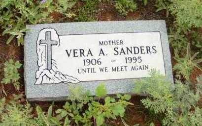 SANDERS, VERA A. - Yavapai County, Arizona | VERA A. SANDERS - Arizona Gravestone Photos