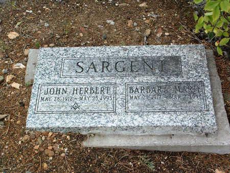 SARGENT, BARBARA MARIE - Yavapai County, Arizona | BARBARA MARIE SARGENT - Arizona Gravestone Photos