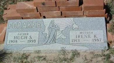 SAVARI FORAKER, IRENE K. - Yavapai County, Arizona | IRENE K. SAVARI FORAKER - Arizona Gravestone Photos
