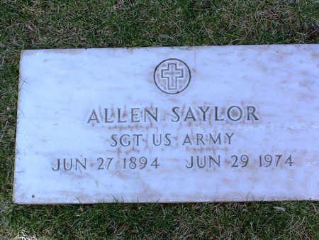 SAYLOR, ALLEN - Yavapai County, Arizona | ALLEN SAYLOR - Arizona Gravestone Photos