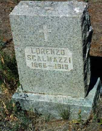SCALMAZZI, LORENZO - Yavapai County, Arizona | LORENZO SCALMAZZI - Arizona Gravestone Photos