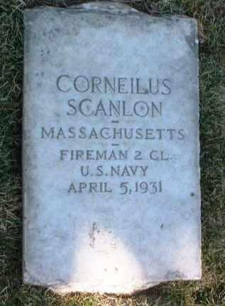 SCANLON, CORNELIUS - Yavapai County, Arizona | CORNELIUS SCANLON - Arizona Gravestone Photos