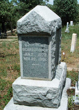 SCARBOROUGH, JOEL C. - Yavapai County, Arizona | JOEL C. SCARBOROUGH - Arizona Gravestone Photos