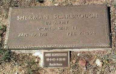 SCARBROUGH, ANNE - Yavapai County, Arizona | ANNE SCARBROUGH - Arizona Gravestone Photos