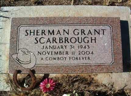 SCARBROUGH, SHERMAN G. - Yavapai County, Arizona   SHERMAN G. SCARBROUGH - Arizona Gravestone Photos
