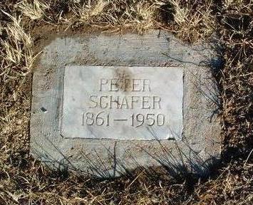 SCHAFER, PETER - Yavapai County, Arizona | PETER SCHAFER - Arizona Gravestone Photos