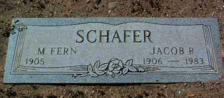 SCHAFER, MARIAM FERN - Yavapai County, Arizona | MARIAM FERN SCHAFER - Arizona Gravestone Photos