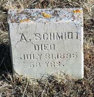 SCHMIDT, AUGUST - Yavapai County, Arizona | AUGUST SCHMIDT - Arizona Gravestone Photos