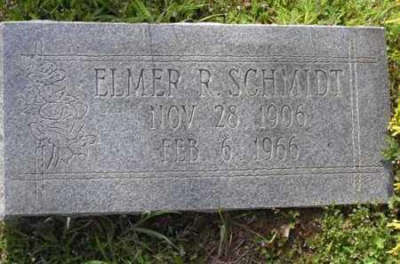 SCHMIDT, ELMER RICHARD - Yavapai County, Arizona   ELMER RICHARD SCHMIDT - Arizona Gravestone Photos