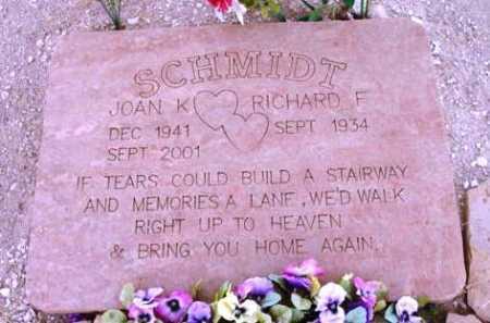 SCHMIDT, JOAN K. - Yavapai County, Arizona | JOAN K. SCHMIDT - Arizona Gravestone Photos