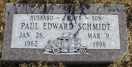 SCHMIDT, PAUL EDWARD - Yavapai County, Arizona | PAUL EDWARD SCHMIDT - Arizona Gravestone Photos