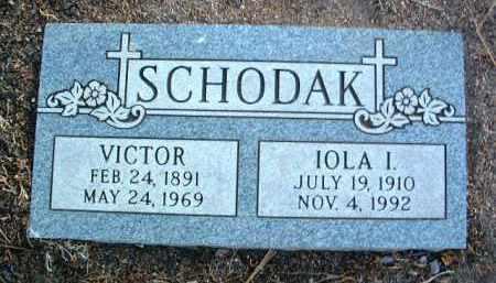 JOHNSON SCHODAK, IOLA - Yavapai County, Arizona | IOLA JOHNSON SCHODAK - Arizona Gravestone Photos