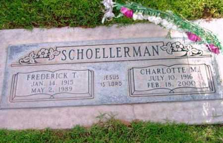 SCHOELLERMAN, CHARLOTTE - Yavapai County, Arizona | CHARLOTTE SCHOELLERMAN - Arizona Gravestone Photos