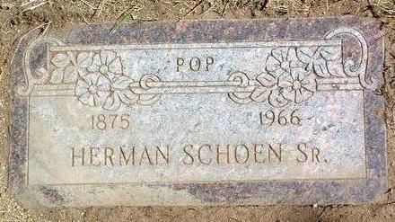 SCHOEN, HERMAN, SR. - Yavapai County, Arizona | HERMAN, SR. SCHOEN - Arizona Gravestone Photos