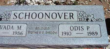 SCHOONOVER, ODIS PERCY - Yavapai County, Arizona | ODIS PERCY SCHOONOVER - Arizona Gravestone Photos