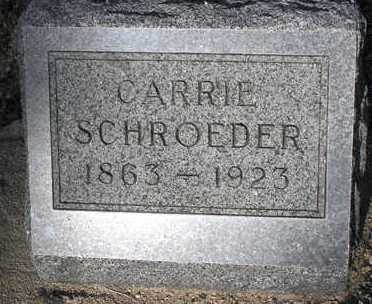 SCHROEDER, CARRIE - Yavapai County, Arizona | CARRIE SCHROEDER - Arizona Gravestone Photos