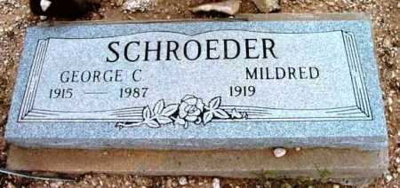 SCHROEDER, GEORGE C. - Yavapai County, Arizona | GEORGE C. SCHROEDER - Arizona Gravestone Photos