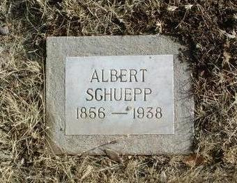 SCHUEPP, ALBERT - Yavapai County, Arizona   ALBERT SCHUEPP - Arizona Gravestone Photos