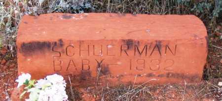 SCHUERMAN, BABY - Yavapai County, Arizona | BABY SCHUERMAN - Arizona Gravestone Photos